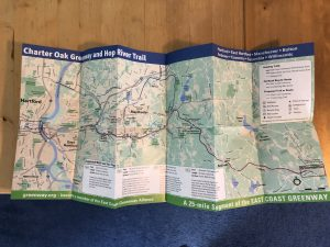 Charter Oak Greenway Map - Cover Site