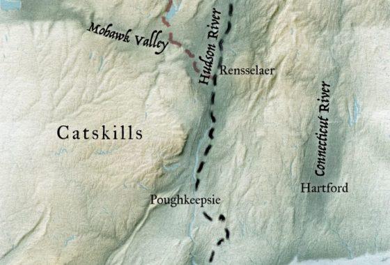 "V2 - Hudson River Valley 5x7"""